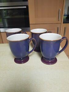 Four Denby Storm Mugs