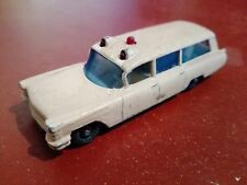 Matchbox 1¬75 superfast series no 54 s&s cadillac ambulance 1965¬70 vintage alt