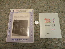 Microscale decals N 60-321 Union Pacific Providemce Worcester 50' box car J61