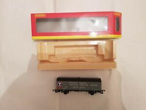HORNBY R6138 TRANSRAIL 45 TON VDA VAN CLOSED '210195' USED BOXED OO GAUGE