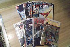 Superman comic books lot of 8 comics  by DC comics