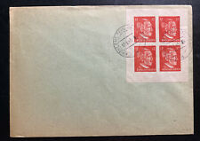 1945 Hohllenstein Germany Postwar OSS Forgery  Cover Block