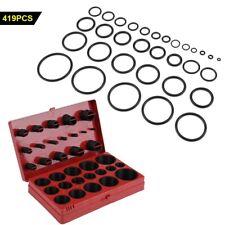 419pcs/set O-ring Assortment Set Seal Gasket Universal Rubber O Ring Kit R01-R32