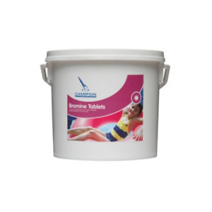 Champion Bromine Tablets 5Kg for larger swim spas and small pools