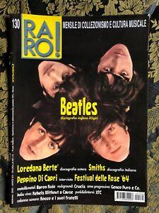 RARO! 130 Magazine about discography ps BEATLES Bertè Smiths DI CAPRI Baron Rojo