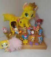 Disney Princess Palace Pets Lot Figures, Furry tails, furniture, and plush