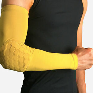 Men Arm Sleeve Basketball Running Cycling Sports UV Sun Protection Cover Warmer