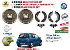 pour RENAULT TWINGO 2007-2014 2 x arrière freins à tambour + CHAUSSURES + 2 X