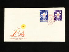 (RUCO 358) Romania 1963 FDC Space spaceship Moon 4 Mission Luna 4
