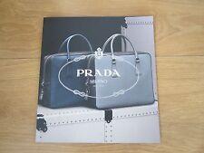 Prada 2013 Men's Bags And Travel Case Magazine.