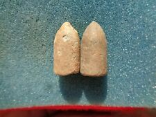 2 Civil War Confederate Enfield Variant Bullets dug in Chattanooga, Tennessee