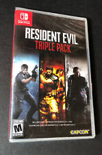 Resident Evil Triple Pack [ Resident Evil 4 + 5 + 6 ] (Nintendo Switch) NEW