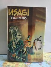 Usagi Yojimbo Grey Shadows Hardcover Signed & Sketched numbered 330/400