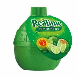 Realime 100% Lime Juice, 2.5 oz