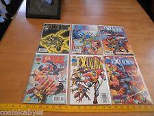 Excalibur comic book 1990s lot of 6 VF/NM 100 101 102 103 104 105 Bag and Brd