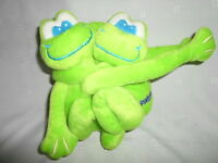 "2002 GMA Friends Forever 8"" Frogs Toads Hugging Plush Soft Toy Stuffed Animal"