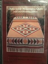 Delectable Mountains Quilt [With Templates .