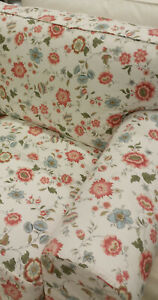 IKEA Cover for Ektorp 3 Seat Sofa VIDESLUND Multi Floral Cottage Country Garden