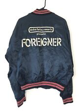 Foreigner 1981 Electric Factory Concerts Tour Crew Only Sewn Jacket Vintage 70s
