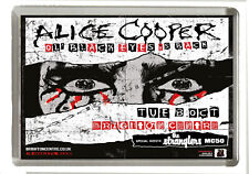 Alice Cooper UK Tour October 2019  - Brighton - Fridge Magnet Jumbo 90  x 60 mm
