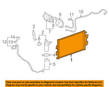 GM OEM Air Conditioner-Condenser 23469929