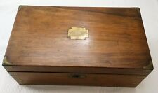 Antique Écrit Pente/Boîte à secret tiroirs