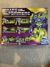 Hasbro Transformers: Vintage G1 Constructicon Devastator Collection Pack - ...