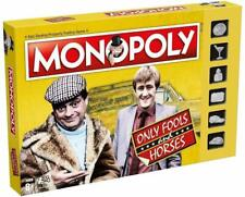 Only Fools and Horses Monopoly Game with Silver Token Pieces Board Game Gift