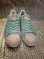 Adidas Superstar Vulc Adv Skate CG4840  Men's 5.5 Pastel Green