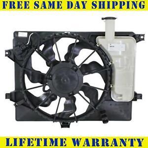 Radiator And Condenser Fan For Hyundai Elantra Elantra GT HY3115133