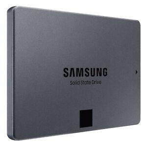 """Samsung 1TB 2,5"""" SATA SSD 860 QVO SSD Interne Festplatte Hard Drive 550 MB/s"""