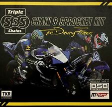 Honda CBR125 R Chain and Sprocket Kit Heavy Duty Triple S 2004-10