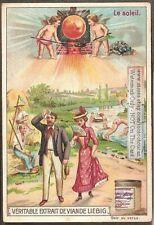 Weather Cherubs Angels Create Sunshine c1903 Trade Ad Card