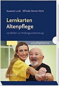 Lernkarten Altenpflege: Lernfelder zur Prüfungsvorbereitung, NEU/OVP