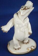 Augarten Porcelain Original Period Hippo Figurine Figure Porzellan Figur Vienna