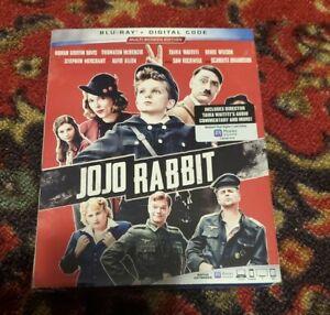 JoJo Rabbit Blu-ray + Digital Code 2020 Multi-Screen Edition NEW With Slipcover