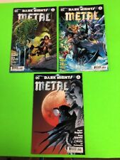 Silencer Annual #1 DC Universe Dark Nights Metal 2018 Batman app 9.6 Near Mint+