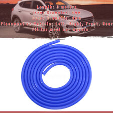 Blue silicone 3M hose For high temp vacuum engine bay dress up 4mm