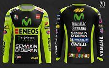 Yamaha VR46 The Doctor 3D T-Shirt Tee Motosport Bikers Racing Team
