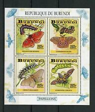 Briefmarken mit Insekten- & Schmetterlings-Motiven aus Burundi