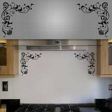 "Decorative Corner Wall Decals - 12"" x 12"" - 2PCS"