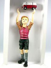 """Schuco Piccolo Figur """"Junge mit VW Bus""""  # 50185003"""