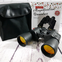 BINOCULARES POWERFULL MAGNIFICATION 7 X 50 FOR NATURE, SPORT EVENTS, CONCERTS