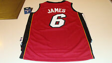 adidas Miami Heat Lebron James Red Youth S Revolution 30 Swingman Jersey NBA