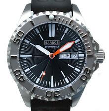 "BARBOS ""Sportmaster"" Day-Date Taucheruhr 1000m/3300ft Armbanduhr Herren"