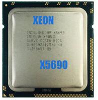 Intel Xeon X5690 CPU 3.46GHz 12MB L2 Cache Six Core server CPU USED 6 Cores Mry