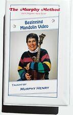 the Murphy method beginning mandolin video vhs tape murphy henry