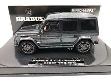 Mercedes Brabus G V12 2010 grey 1:43 Minichamps 437032300