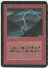 Alpha MTG  Lightning Bolt  Magic Common *