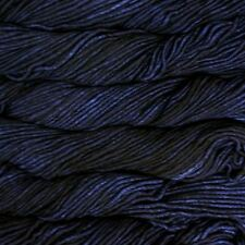"Malabrigo Mecha ""Paris Night 52"" Chunky Yarn 100% Merino Superwash 100g Knitting"